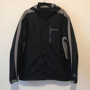 Columbia Alpine Action Black & Gray Winter Jacket